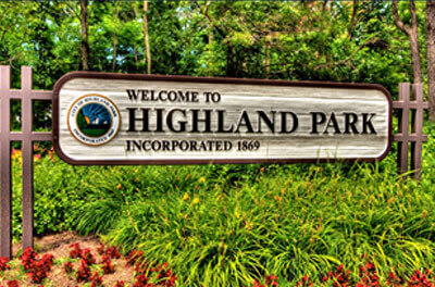 SUV limousine Highland Park