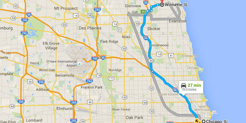 Limo Service From Chicago To Wilmette