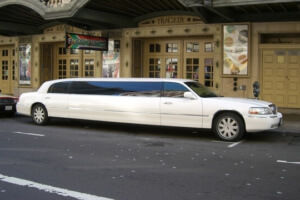 White Limousine for an SUV Chicago Limo article