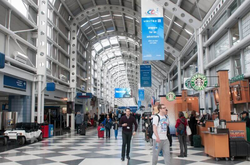 Shops in ORD terminals